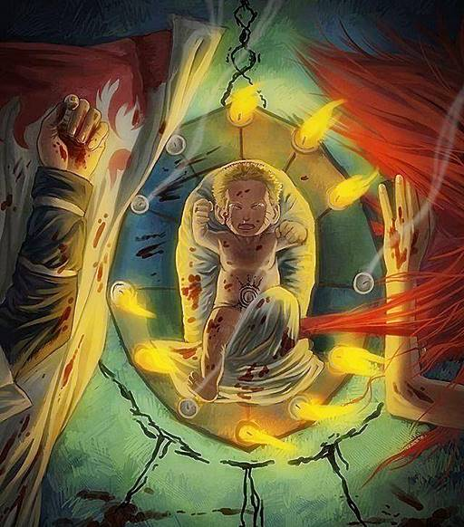 Why Minato Namikaze Sealed Half Of The Nine Tails Inside Him And Half In Naruto Anime Souls