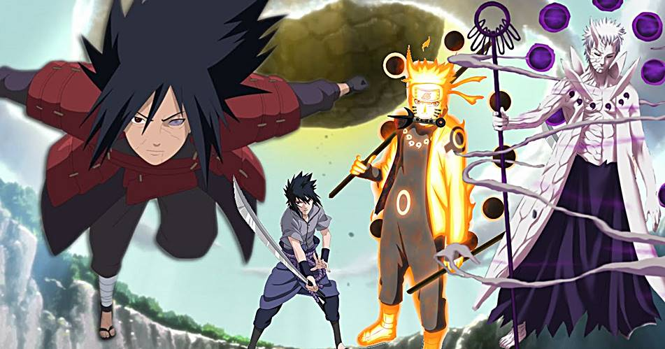 top 10 strongest chakra users in naruto world anime souls